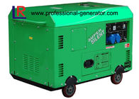 Portable 10kw Small Silent Diesel Generator with Self - excited Single Phase Electric Start CE
