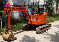 1.8 Tons Digging Wheel 0.05cbm Mini Crawler Excavator