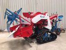 Small Agriculture Harvester With 14HP 10KW Electric Starting Diesel Engine