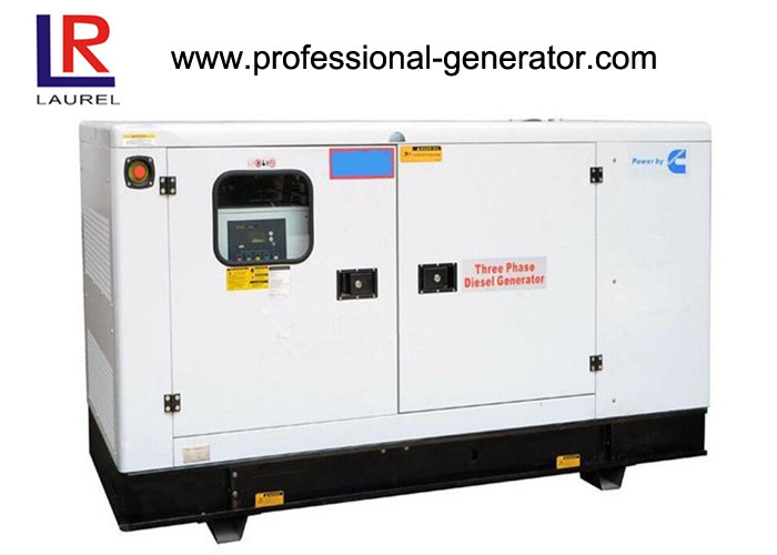 30kva Cummins Diesel Generator Set Stamford Engine ATS Multi - function Low Noise