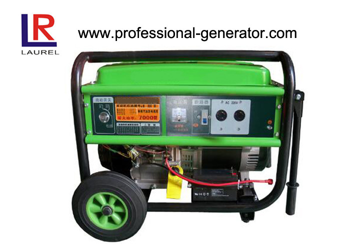 7kw Portable Gasoline Power Generators with AVR , Overload and Low Oil Warning
