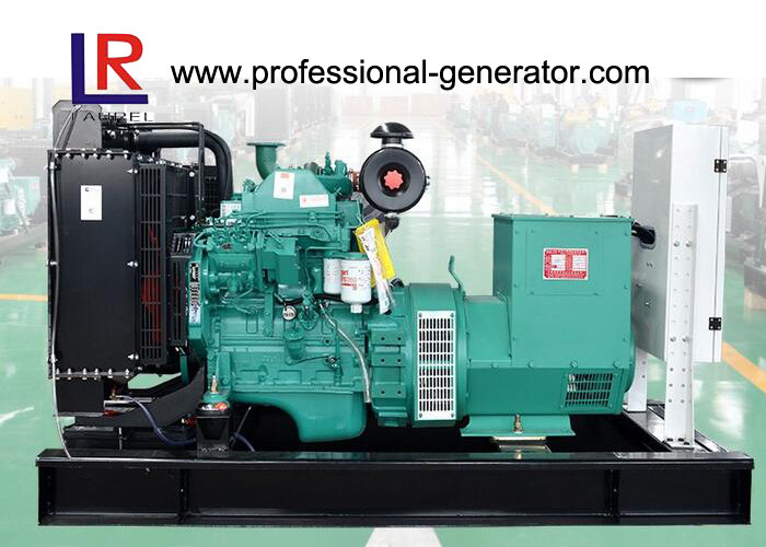 230 / 400V Adjustable 50kw Cummins Diesel Generator Set 60KVA Rated Power