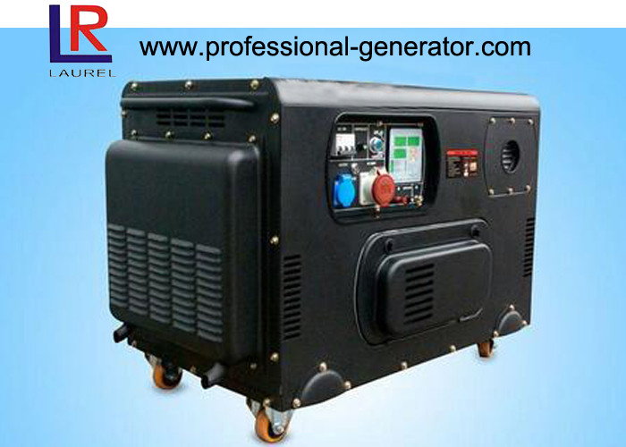 12.5kVA Electric Diesel Generator 400V / 230V with AVR / Brush Voltage Regulation
