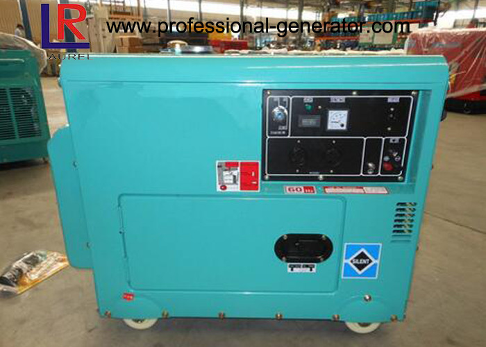 Minimal Vibration 5kw Electric Diesel Generator with 4 Stroke Engine Smooth Running