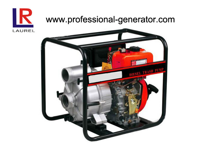 2 - 4 Inch Diesel Trash Water Pump Self-priming Centrifugal with Excellent Prompt Shippment