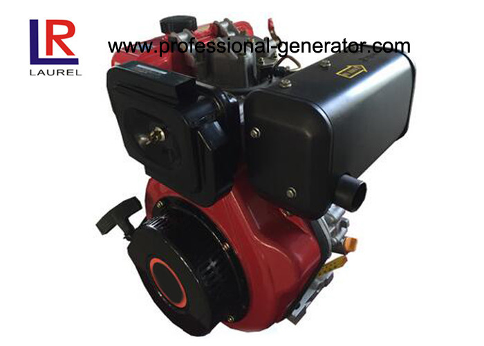 Light Weight 8.5HP Diesel Engine with Compact Structure Design , Air Cooled Recoil or Electric