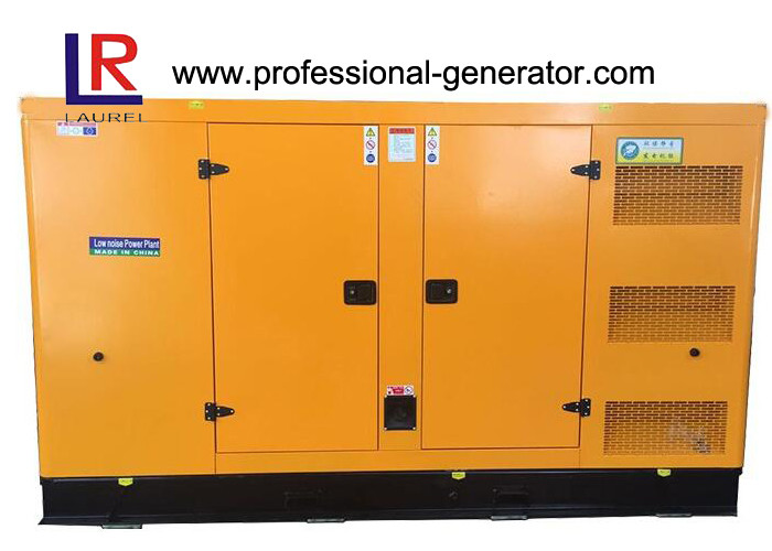 4 Stroke 280KW 350kVA Silent Diesel Generator Set with D11A Engine , 3 Phase and 4 Lines