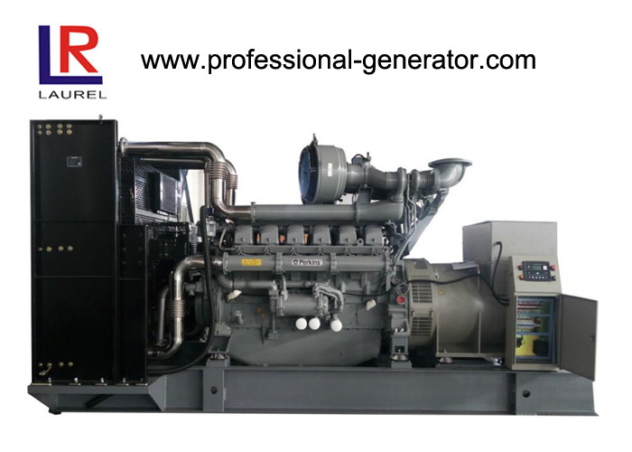 Open Power 1500kVA Perkins Diesel Generator with Water Cooled 1500rpm Rated Speed