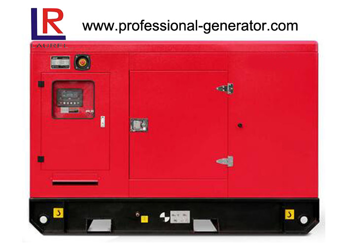 Self - Starting 50kVA / 40kw Cummins Silent Diesel Generator Set with AC 3 Phase Land Use