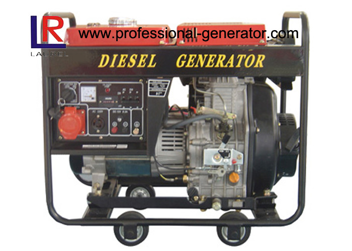 Open frame Electric Start 3kw Diesel Power Generator with Self excited Constant Voltage
