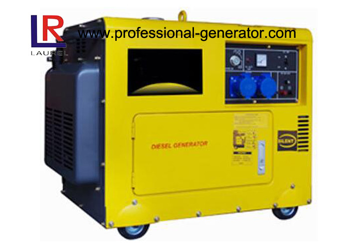 5KW 220V Super Silent Diesel Generator Single or 3 phase Electric start