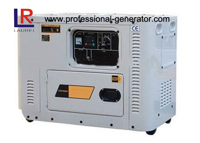 Electric Small Home Use Diesel Powered Generator , 3000RPM CE Certificate