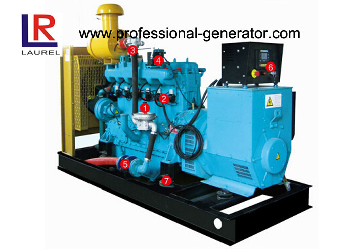 Electric Start 50kw Natural Gas Generators with AC Three Phase , Cummins Ricardo