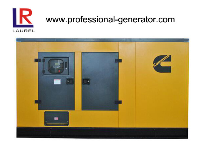 350kw Silent Diesel Generator Set Soundproof Four Strok with Electrical Starting