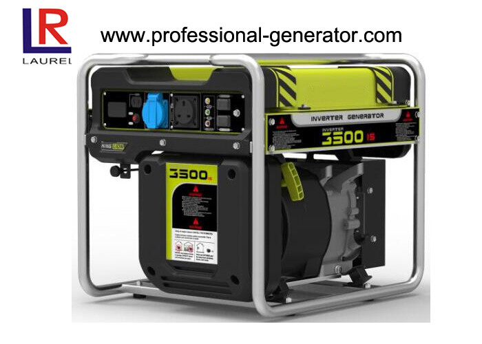 Recoil Start Low Noise 3.5kw Portable Inverter Digital Generator with Air Cooled Single Cylinder