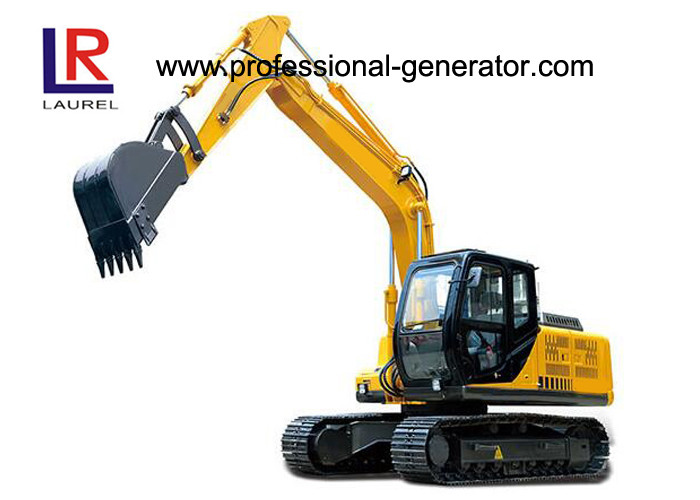 26 MPa 85kw Vibrating Plate Compactor 13.5 Tons Small Digger with Grapple