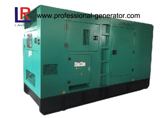 200kVA Super Silent Diesel Generator Set 160kw with Original UK Engine 1306C - E87TAG3