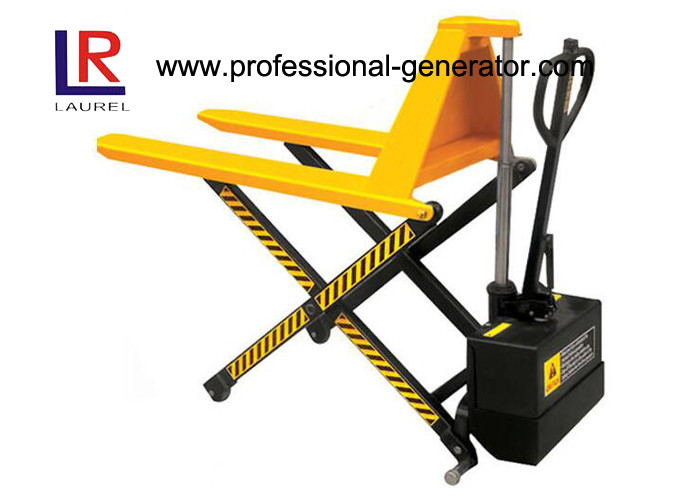 Hydraulic Warehouse Material Handling Equipment Mobile Double Piston Electric Scissor Lift