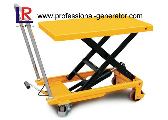 High Capacity Warehouse Material Handling Equipment Electric Hydraulic Scissor Lift Table